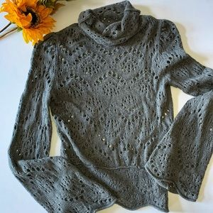 FREE PEOPLE > Bell Sleeve Sweater